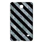 STRIPES3 BLACK MARBLE & ICE CRYSTALS Samsung Galaxy Tab 4 (8 ) Hardshell Case