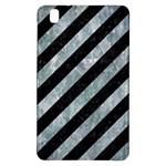 STRIPES3 BLACK MARBLE & ICE CRYSTALS (R) Samsung Galaxy Tab Pro 8.4 Hardshell Case