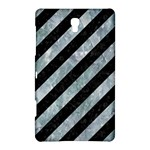 STRIPES3 BLACK MARBLE & ICE CRYSTALS (R) Samsung Galaxy Tab S (8.4 ) Hardshell Case
