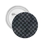 WOVEN2 BLACK MARBLE & ICE CRYSTALS (R) 2.25  Buttons