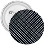 WOVEN2 BLACK MARBLE & ICE CRYSTALS (R) 3  Buttons