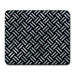 WOVEN2 BLACK MARBLE & ICE CRYSTALS (R) Large Mousepads