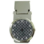 WOVEN2 BLACK MARBLE & ICE CRYSTALS (R) Money Clip Watches