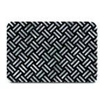 WOVEN2 BLACK MARBLE & ICE CRYSTALS (R) Plate Mats
