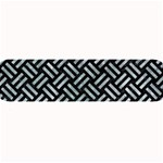WOVEN2 BLACK MARBLE & ICE CRYSTALS (R) Large Bar Mats