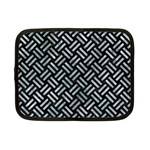 WOVEN2 BLACK MARBLE & ICE CRYSTALS (R) Netbook Case (Small)