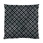 WOVEN2 BLACK MARBLE & ICE CRYSTALS (R) Standard Cushion Case (One Side)