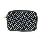 WOVEN2 BLACK MARBLE & ICE CRYSTALS (R) Coin Purse