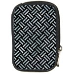 WOVEN2 BLACK MARBLE & ICE CRYSTALS (R) Compact Camera Cases