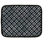 WOVEN2 BLACK MARBLE & ICE CRYSTALS (R) Netbook Case (XXL)
