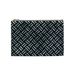 WOVEN2 BLACK MARBLE & ICE CRYSTALS (R) Cosmetic Bag (Medium)
