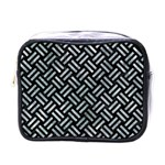 WOVEN2 BLACK MARBLE & ICE CRYSTALS (R) Mini Toiletries Bags