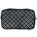 WOVEN2 BLACK MARBLE & ICE CRYSTALS (R) Toiletries Bags