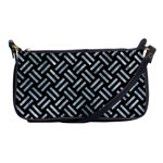 WOVEN2 BLACK MARBLE & ICE CRYSTALS (R) Shoulder Clutch Bags