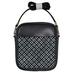 WOVEN2 BLACK MARBLE & ICE CRYSTALS (R) Girls Sling Bags