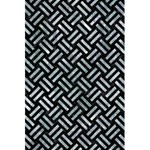 WOVEN2 BLACK MARBLE & ICE CRYSTALS (R) 5.5  x 8.5  Notebooks