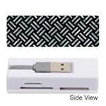 WOVEN2 BLACK MARBLE & ICE CRYSTALS (R) Memory Card Reader (Stick)