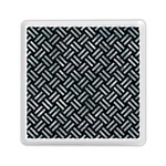WOVEN2 BLACK MARBLE & ICE CRYSTALS (R) Memory Card Reader (Square)