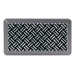 WOVEN2 BLACK MARBLE & ICE CRYSTALS (R) Memory Card Reader (Mini)