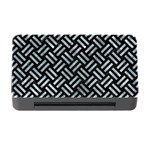 WOVEN2 BLACK MARBLE & ICE CRYSTALS (R) Memory Card Reader with CF