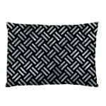WOVEN2 BLACK MARBLE & ICE CRYSTALS (R) Pillow Case (Two Sides)