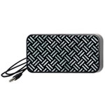WOVEN2 BLACK MARBLE & ICE CRYSTALS (R) Portable Speaker