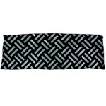 WOVEN2 BLACK MARBLE & ICE CRYSTALS (R) Body Pillow Case Dakimakura (Two Sides)