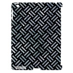 WOVEN2 BLACK MARBLE & ICE CRYSTALS (R) Apple iPad 3/4 Hardshell Case (Compatible with Smart Cover)
