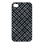 WOVEN2 BLACK MARBLE & ICE CRYSTALS (R) Apple iPhone 4/4S Premium Hardshell Case
