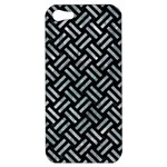 WOVEN2 BLACK MARBLE & ICE CRYSTALS (R) Apple iPhone 5 Hardshell Case