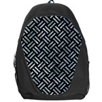 WOVEN2 BLACK MARBLE & ICE CRYSTALS (R) Backpack Bag