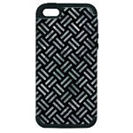 WOVEN2 BLACK MARBLE & ICE CRYSTALS (R) Apple iPhone 5 Hardshell Case (PC+Silicone)