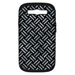 WOVEN2 BLACK MARBLE & ICE CRYSTALS (R) Samsung Galaxy S III Hardshell Case (PC+Silicone)