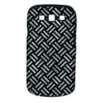 WOVEN2 BLACK MARBLE & ICE CRYSTALS (R) Samsung Galaxy S III Classic Hardshell Case (PC+Silicone)