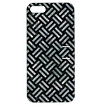 WOVEN2 BLACK MARBLE & ICE CRYSTALS (R) Apple iPhone 5 Hardshell Case with Stand
