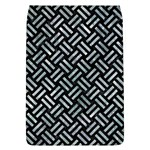 WOVEN2 BLACK MARBLE & ICE CRYSTALS (R) Flap Covers (L)