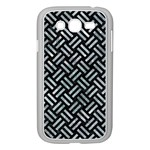 WOVEN2 BLACK MARBLE & ICE CRYSTALS (R) Samsung Galaxy Grand DUOS I9082 Case (White)
