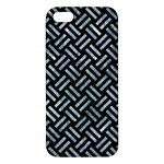 WOVEN2 BLACK MARBLE & ICE CRYSTALS (R) iPhone 5S/ SE Premium Hardshell Case