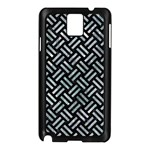 WOVEN2 BLACK MARBLE & ICE CRYSTALS (R) Samsung Galaxy Note 3 N9005 Case (Black)