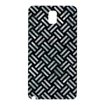 WOVEN2 BLACK MARBLE & ICE CRYSTALS (R) Samsung Galaxy Note 3 N9005 Hardshell Back Case
