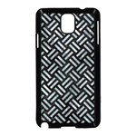 WOVEN2 BLACK MARBLE & ICE CRYSTALS (R) Samsung Galaxy Note 3 Neo Hardshell Case (Black)