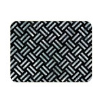 WOVEN2 BLACK MARBLE & ICE CRYSTALS (R) Double Sided Flano Blanket (Mini)