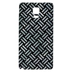WOVEN2 BLACK MARBLE & ICE CRYSTALS (R) Galaxy Note 4 Back Case