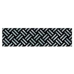 WOVEN2 BLACK MARBLE & ICE CRYSTALS (R) Satin Scarf (Oblong)