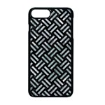 WOVEN2 BLACK MARBLE & ICE CRYSTALS (R) Apple iPhone 7 Plus Seamless Case (Black)