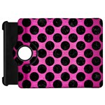 CIRCLES2 BLACK MARBLE & PINK BRUSHED METAL Kindle Fire HD 7