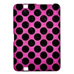 CIRCLES2 BLACK MARBLE & PINK BRUSHED METAL Kindle Fire HD 8.9