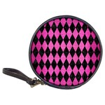 DIAMOND1 BLACK MARBLE & PINK BRUSHED METAL Classic 20-CD Wallets