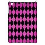 DIAMOND1 BLACK MARBLE & PINK BRUSHED METAL Apple iPad Mini Hardshell Case