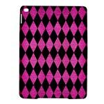 DIAMOND1 BLACK MARBLE & PINK BRUSHED METAL iPad Air 2 Hardshell Cases